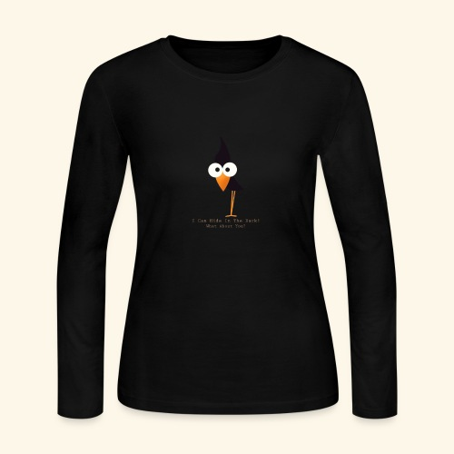 i can hide in the dark - Women's Long Sleeve Jersey T-Shirt