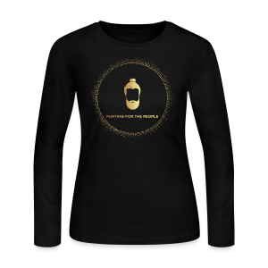 Punting For The People Print - Women's Long Sleeve Jersey T-Shirt