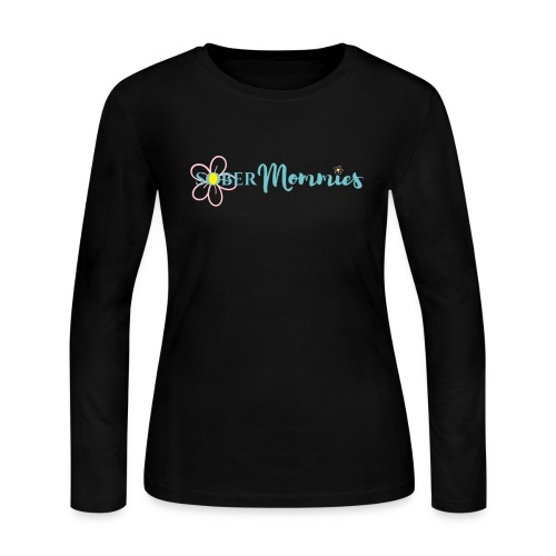 Sober Mommies Merch - Women's Long Sleeve Jersey T-Shirt