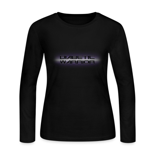 Diabetic Warrior In Space - Women's Long Sleeve Jersey T-Shirt