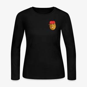 maga potato logo - Women's Long Sleeve Jersey T-Shirt