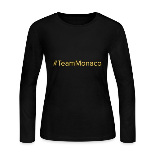 Team Monaco - Women's Long Sleeve Jersey T-Shirt