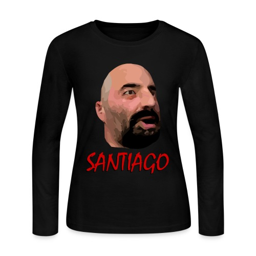 Santiago - Women's Long Sleeve Jersey T-Shirt