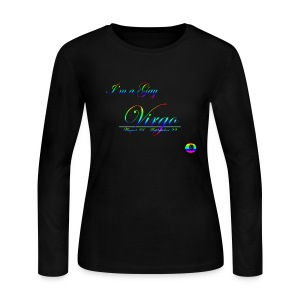 Virgo - Women's Long Sleeve Jersey T-Shirt