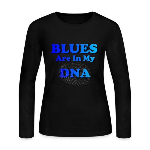 Blues DNA - Women's Long Sleeve Jersey T-Shirt