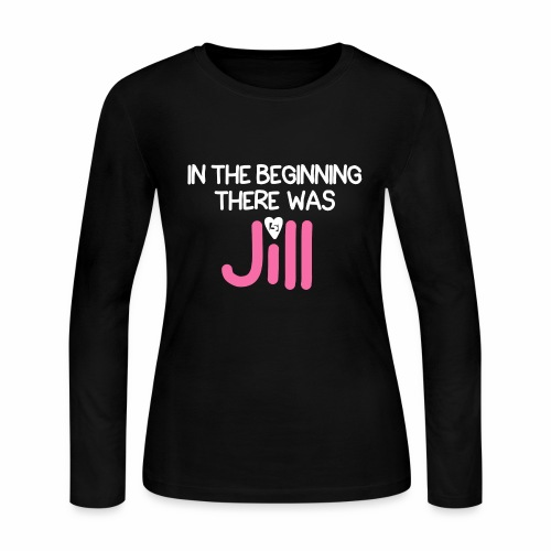 Women's In the beginning there was House Shirt - Women's Long Sleeve Jersey T-Shirt