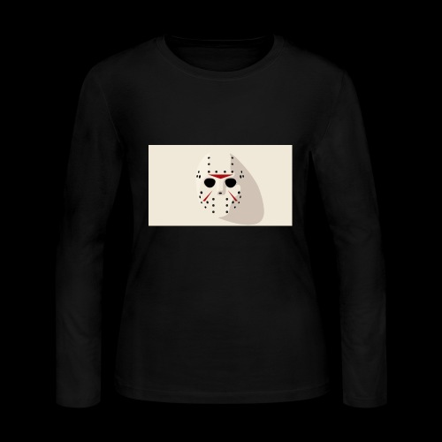 Jason from Friday 13th - Women's Long Sleeve Jersey T-Shirt