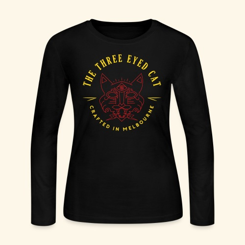 Look what the cat dragged in. - Women's Long Sleeve Jersey T-Shirt