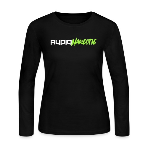 Lime Green Audio Narcotic - Women's Long Sleeve Jersey T-Shirt