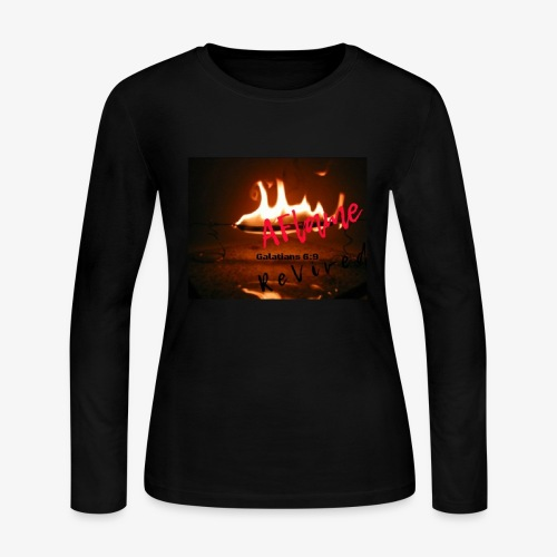 A Flame Revived - Women's Long Sleeve Jersey T-Shirt