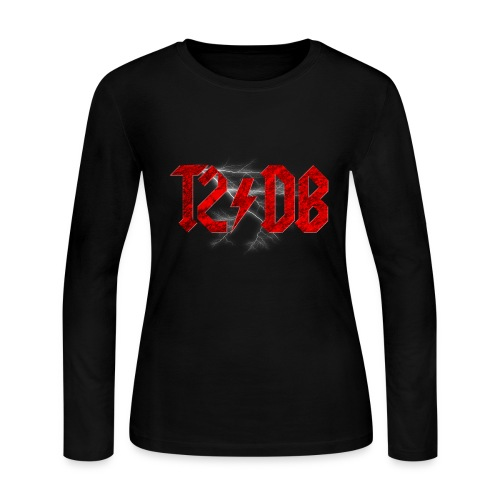 T2/DB AC/DC Style - Women's Long Sleeve Jersey T-Shirt