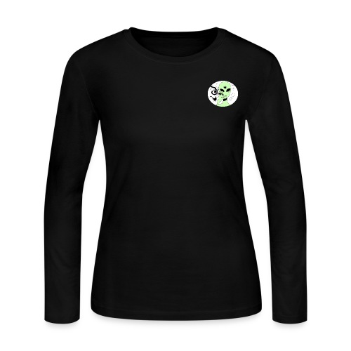 BASJAM Spaced Out - Women's Long Sleeve Jersey T-Shirt