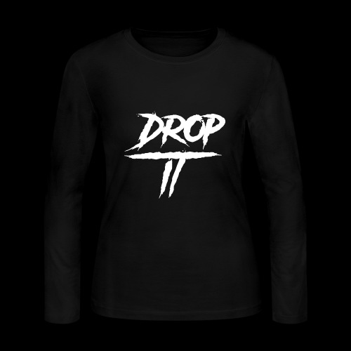 Original ''DROP IT''s Logo - Women's Long Sleeve Jersey T-Shirt