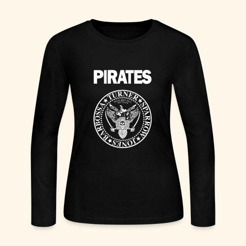 Punk Rock Pirates [heroes] - Women's Long Sleeve Jersey T-Shirt