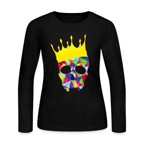 skull1 - Women's Long Sleeve Jersey T-Shirt