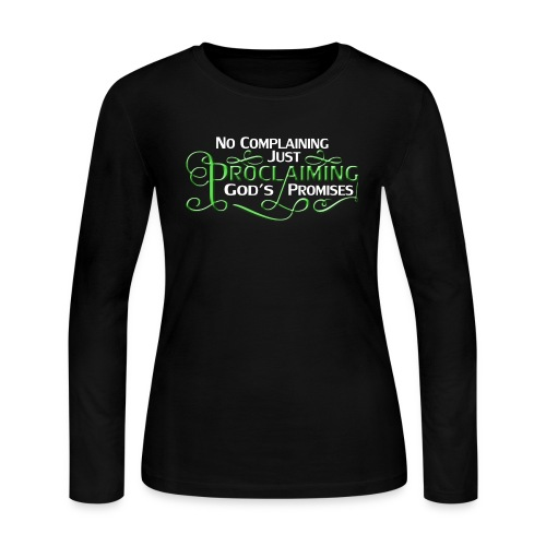 Green Proclaim - Women's Long Sleeve Jersey T-Shirt