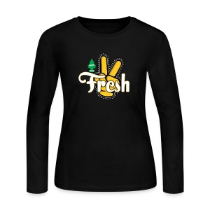 2Fresh - Women's Long Sleeve Jersey T-Shirt