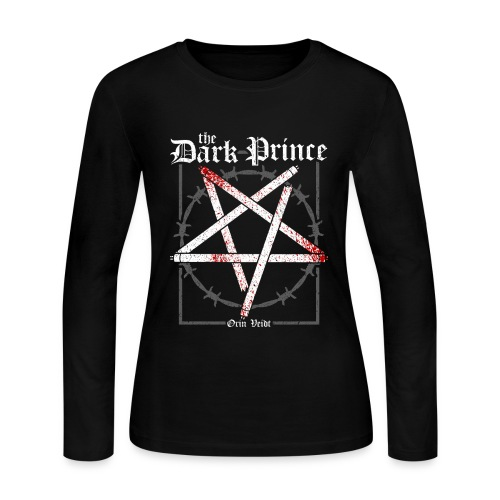 Orin Veidt The Dark Prince - Women's Long Sleeve Jersey T-Shirt