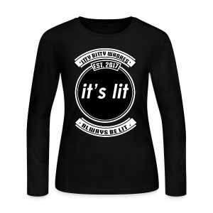 NEW Itty Bitty Whores Merch!! LIMITED TIME ONLY - Women's Long Sleeve Jersey T-Shirt