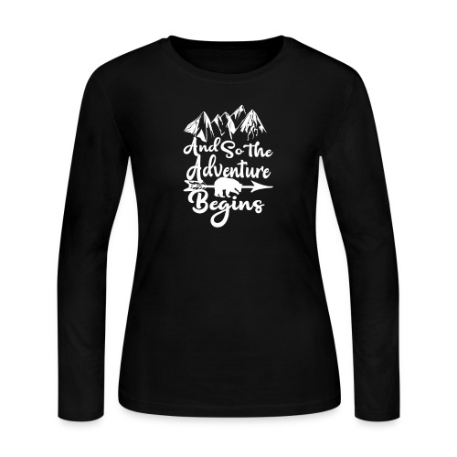 And So The Adventure Begins - Women's Long Sleeve Jersey T-Shirt