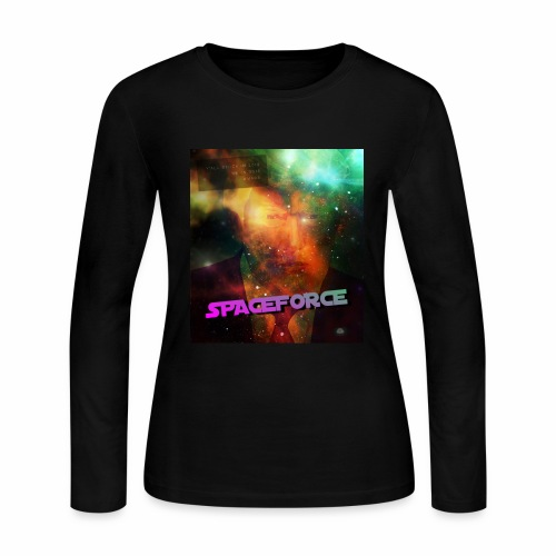 Donald Trump SpaceForce - Women's Long Sleeve Jersey T-Shirt