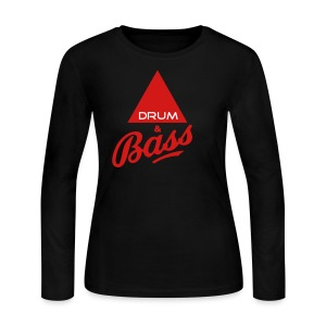 Drum and Bass - Women's Long Sleeve Jersey T-Shirt
