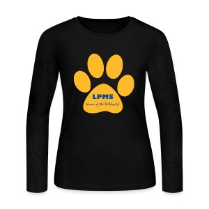 LPMS Logo - Women's Long Sleeve Jersey T-Shirt
