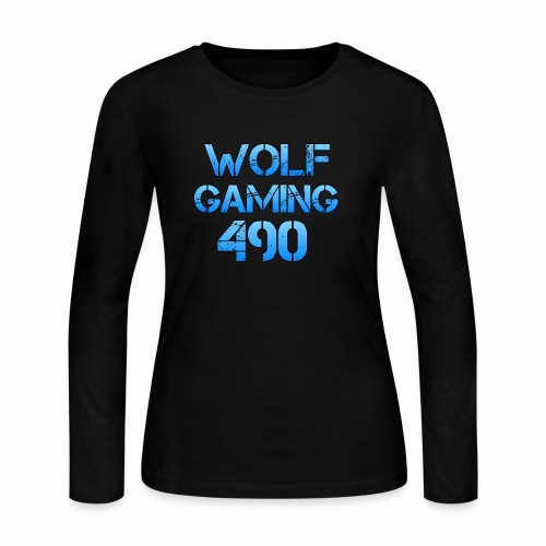 Wolfgaming490 Logo - Women's Long Sleeve Jersey T-Shirt