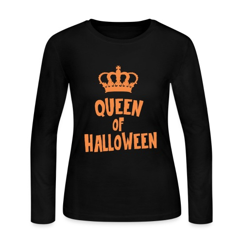 Queen of halloween - Women's Long Sleeve Jersey T-Shirt