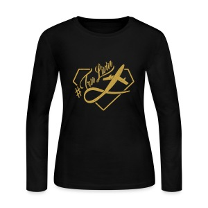 LogoDesign - Women's Long Sleeve Jersey T-Shirt