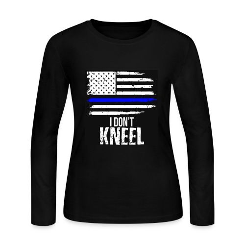 i dont knee - Women's Long Sleeve Jersey T-Shirt