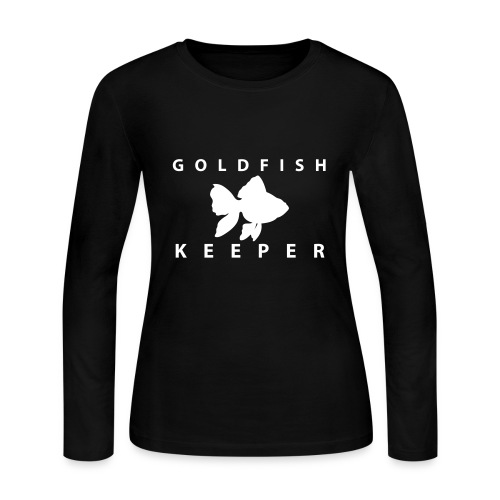 Goldfish Keeper (telescope) - Women's Long Sleeve Jersey T-Shirt