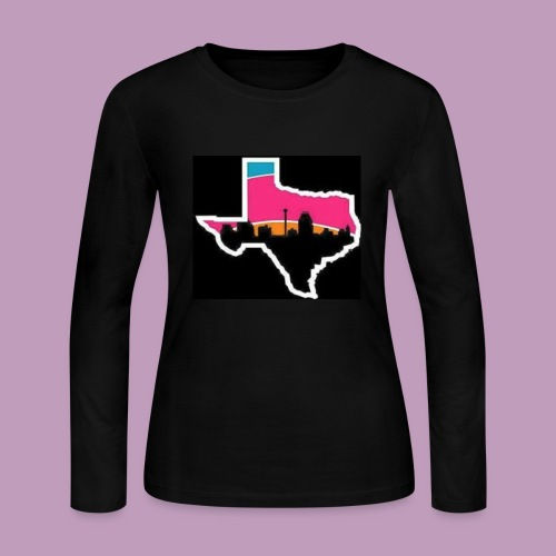 spurs gear - Women's Long Sleeve Jersey T-Shirt