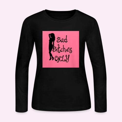 Bad Bitches Only™️ - Women's Long Sleeve Jersey T-Shirt