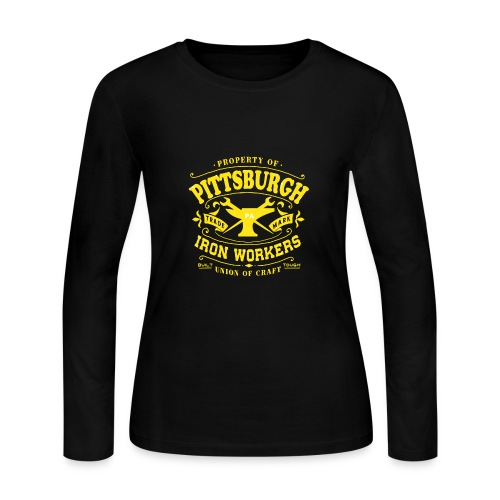 Pittsburgh Iron Workers - Women's Long Sleeve Jersey T-Shirt