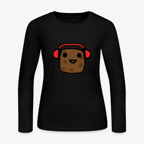 Shirt Design Potato - Women's Long Sleeve Jersey T-Shirt