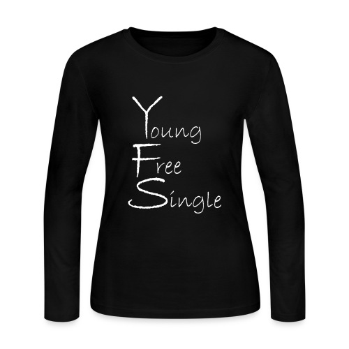 Young Free Single from Bent Sentimenta - Women's Long Sleeve Jersey T-Shirt