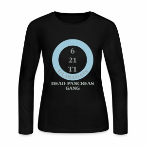 Dead Pancreas Gang - Women's Long Sleeve Jersey T-Shirt