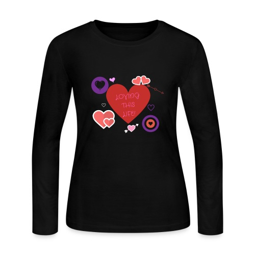 LOVING THIS LIFE - Women's Long Sleeve Jersey T-Shirt