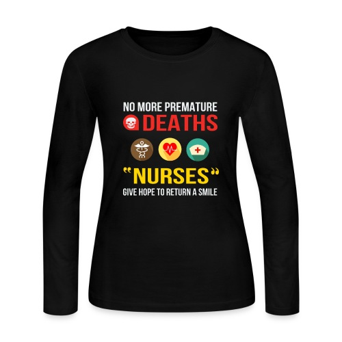 BEST SELLING - NURSES - Women's Long Sleeve Jersey T-Shirt