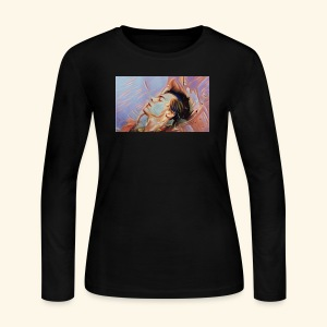 floating painting print - Women's Long Sleeve Jersey T-Shirt