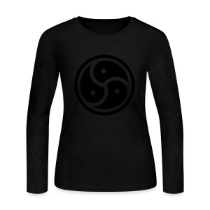 Kink Community Symbol - Women's Long Sleeve Jersey T-Shirt