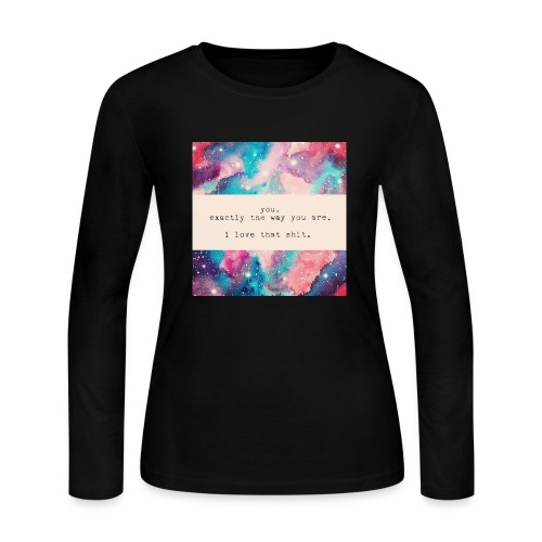 the way you are - Women's Long Sleeve Jersey T-Shirt