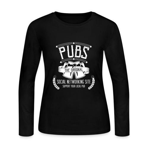 Pub - Social Networking - Women's Long Sleeve Jersey T-Shirt