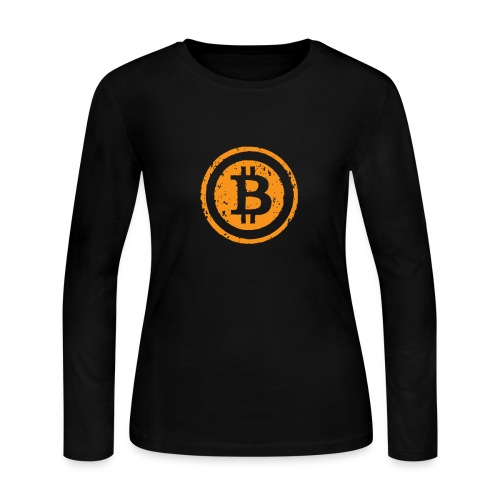 Bitcoin Worldwide Crypto Currency - Women's Long Sleeve Jersey T-Shirt