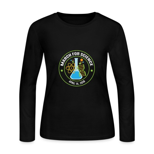 March for Science 2018 - Women's Long Sleeve Jersey T-Shirt
