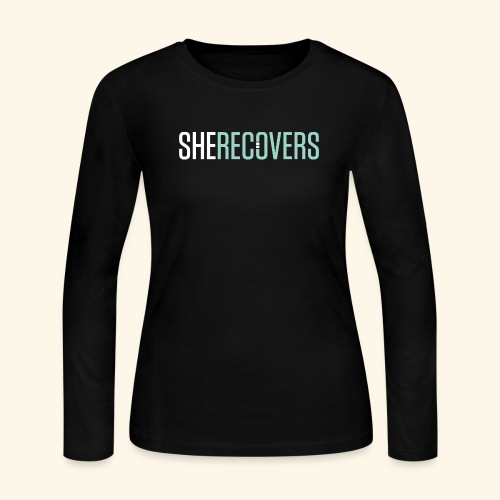 She Recovers - Women's Long Sleeve Jersey T-Shirt