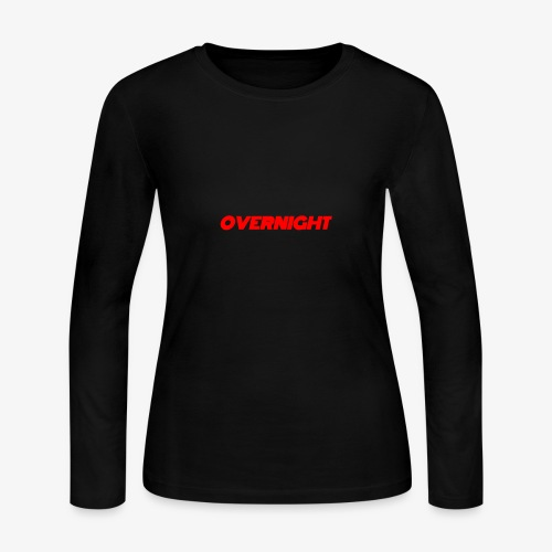 Overnight - Women's Long Sleeve Jersey T-Shirt