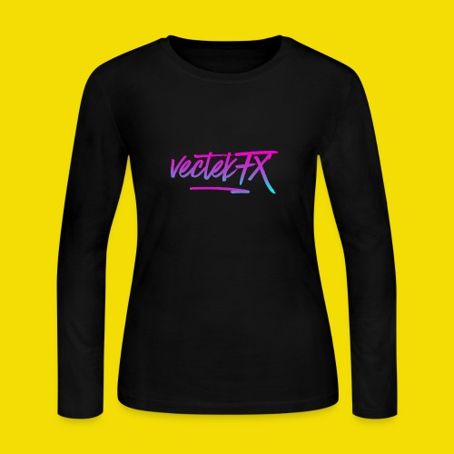 VectekFX CasualWear - Women's Long Sleeve Jersey T-Shirt