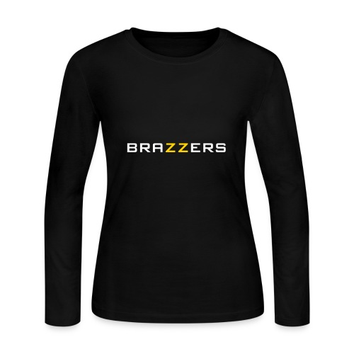 Brazzers Primary Logo - Women's Long Sleeve Jersey T-Shirt